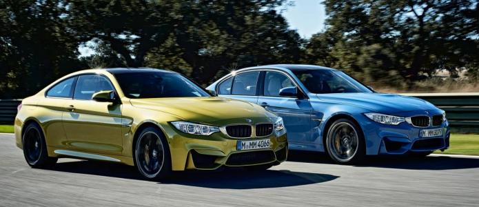 2014 BMW M3 Sedan and M4 Coupe