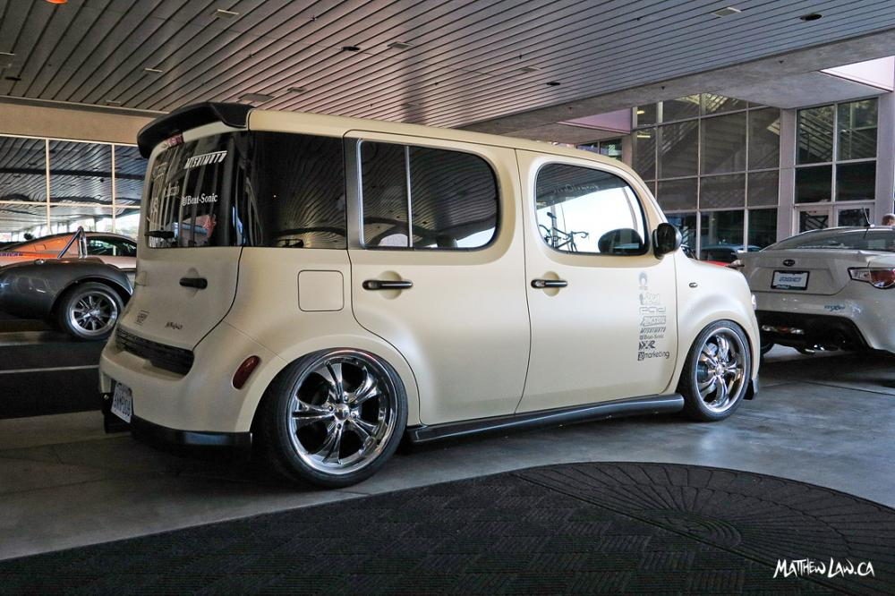 Loganbuilt Nissan Cube At 2012 Sema Show Ps Garage