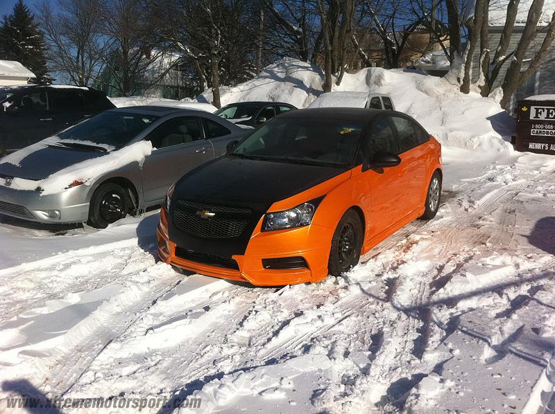 Top Tuner Chevrolet Cruze And Corvette Are Finished Ps