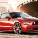 Ford Mustang on Foose Wheels