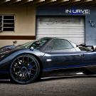Pagani Zonda on Incurve Wheels
