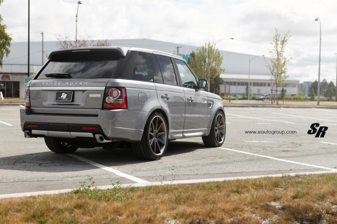 Range rover sport by sr auto ps garage automotive design for Land rover tarbes garage moderne