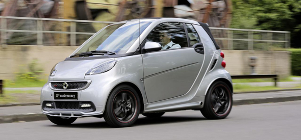 smart fortwo brabus for 10th anniversary ps garage. Black Bedroom Furniture Sets. Home Design Ideas