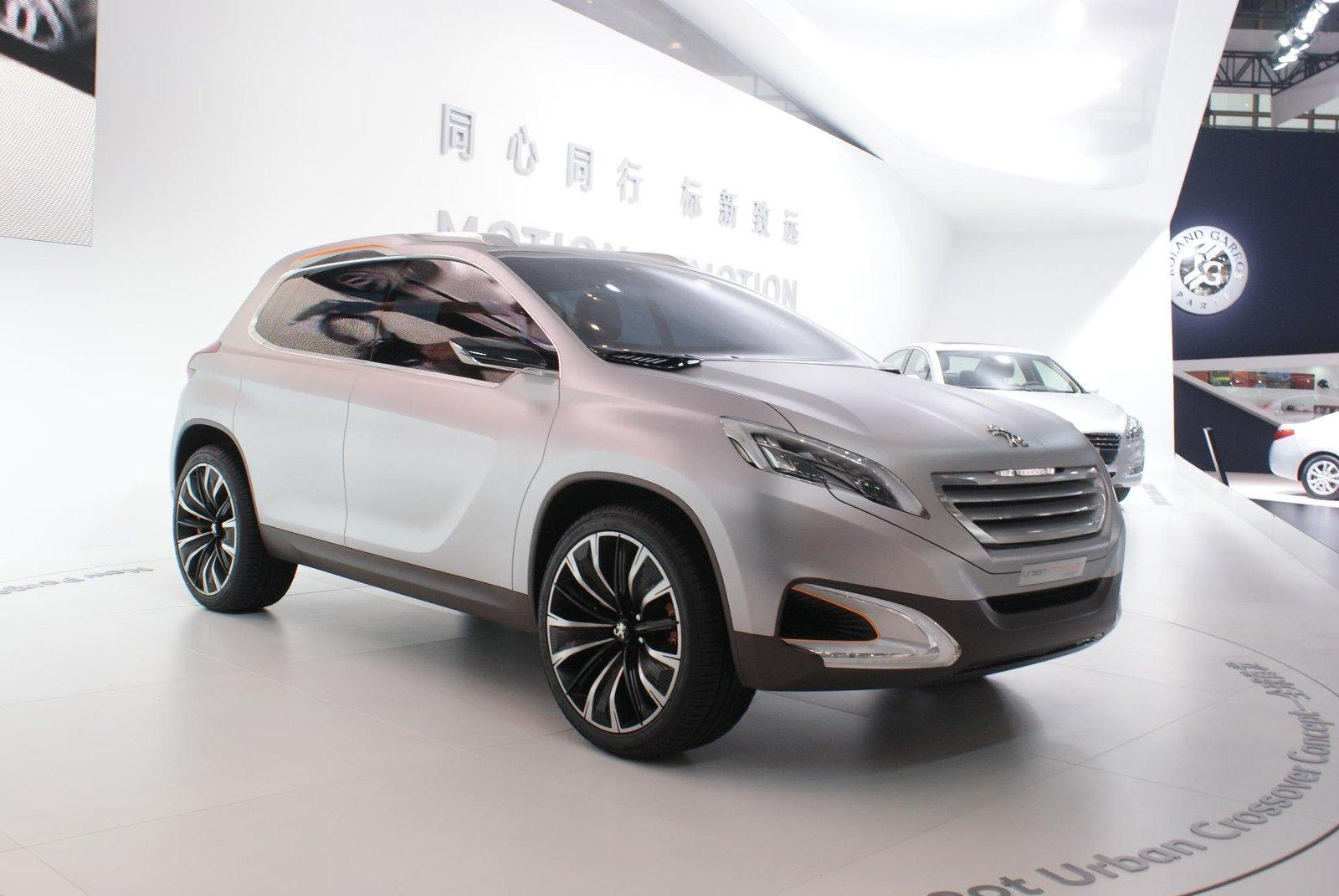 Peugeot Urban Crossover Concept As 2008 Ps Garage
