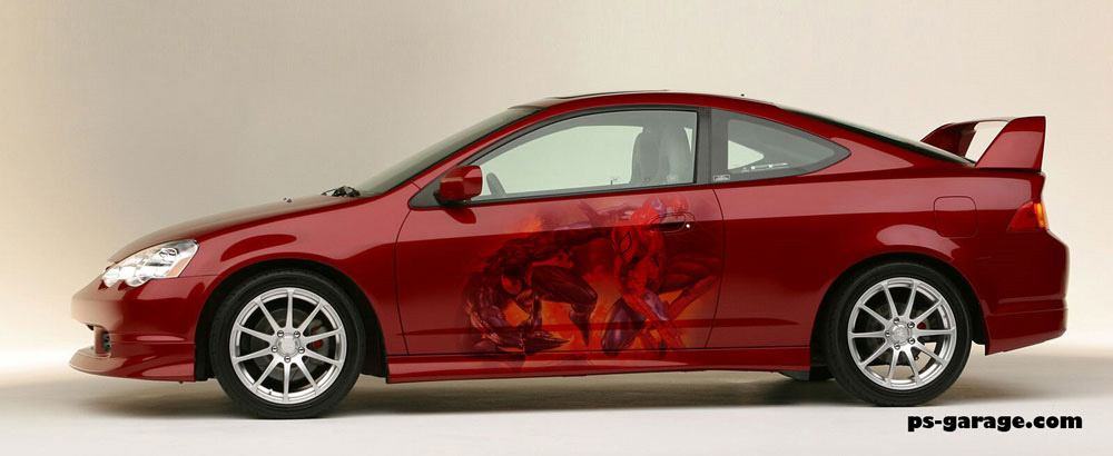 Applying Flames And Graphics Onto Cars PsGarage Automotive - Vinyl designs for cars