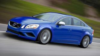 2014 Volvo S60R Polestar - speculative render