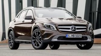 2014 Mercedes-Benz GLA revealed