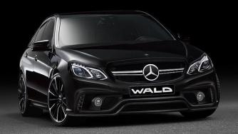 Mercedes E-Class and Toyota Crown by Wald International