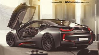 BMW i8 on ADV.1 Wheels