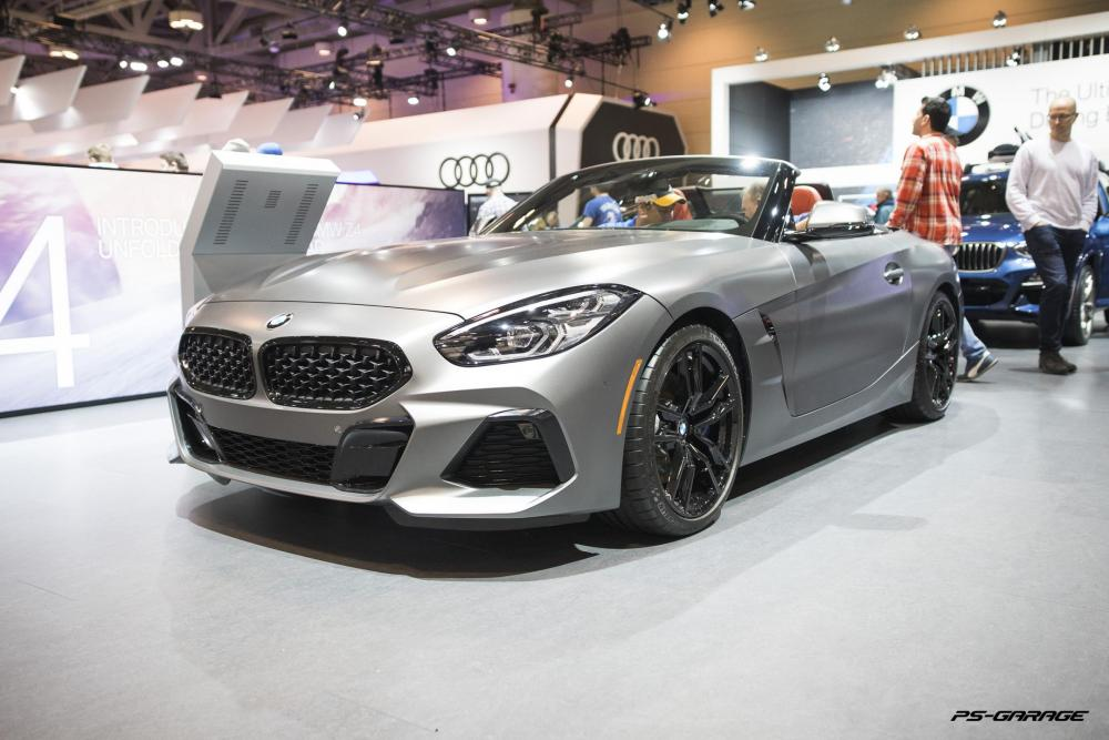 2019 Canadian International Auto Show - 2020 BMW Z4