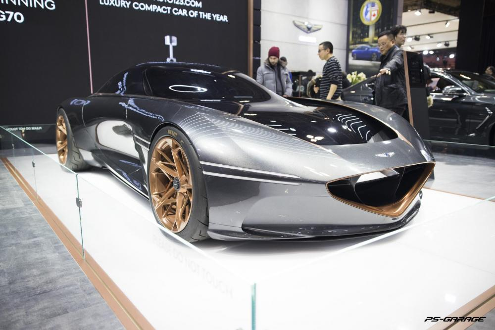 2019 Canadian International Auto Show - 2018 Genesis Essentia Concept