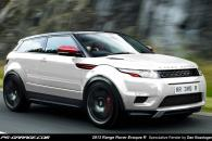 2013 Land Rover Range Rover Speculative Render Spyshot Leak