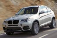 BMW X4 Concept Speculative Render Spyshot Leak