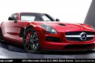 Mercedes-Benz SLS AMG Black Series Speculative Render Spyshot Leak